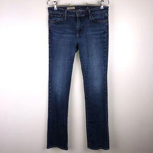 AG Alexa Mid Rise Slim Boot Cut Jeans 28 E3753